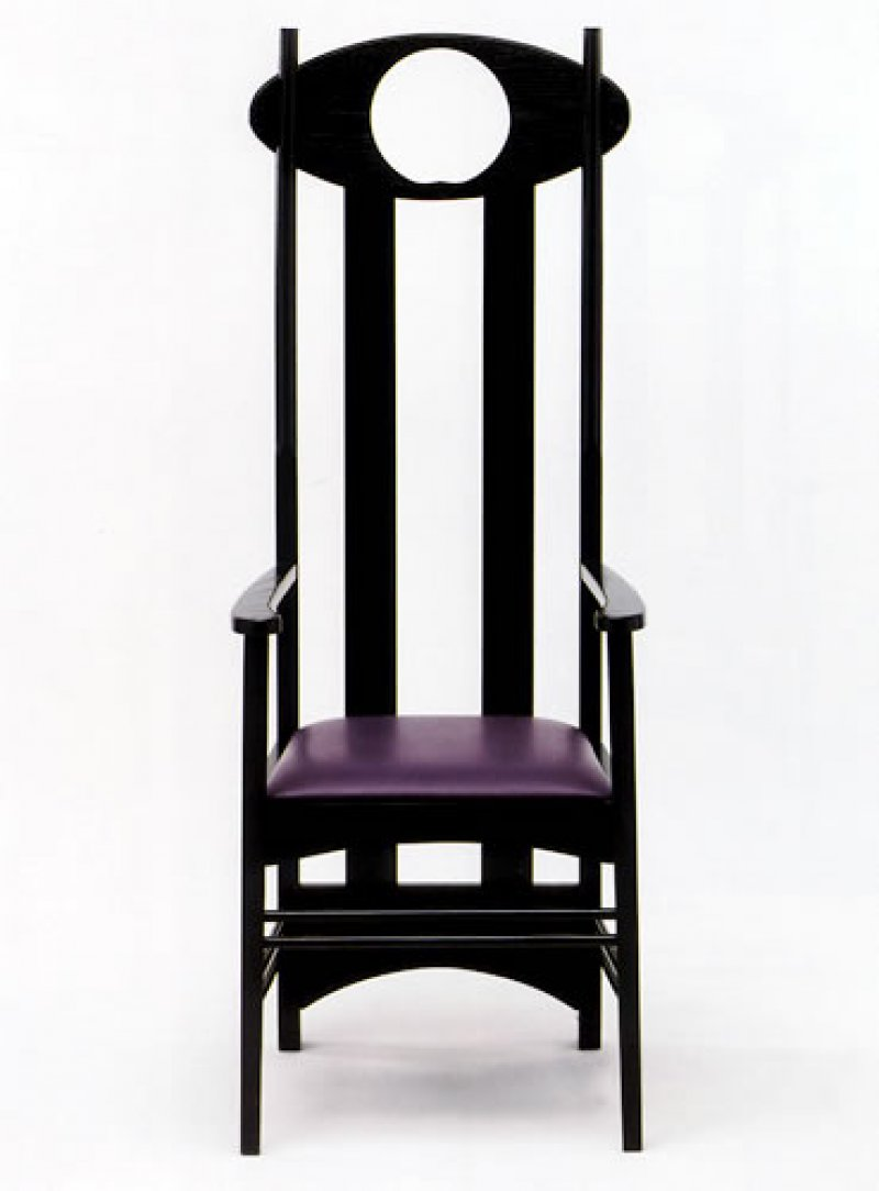 sedia argyle charles rennie mackintosh. Black Bedroom Furniture Sets. Home Design Ideas