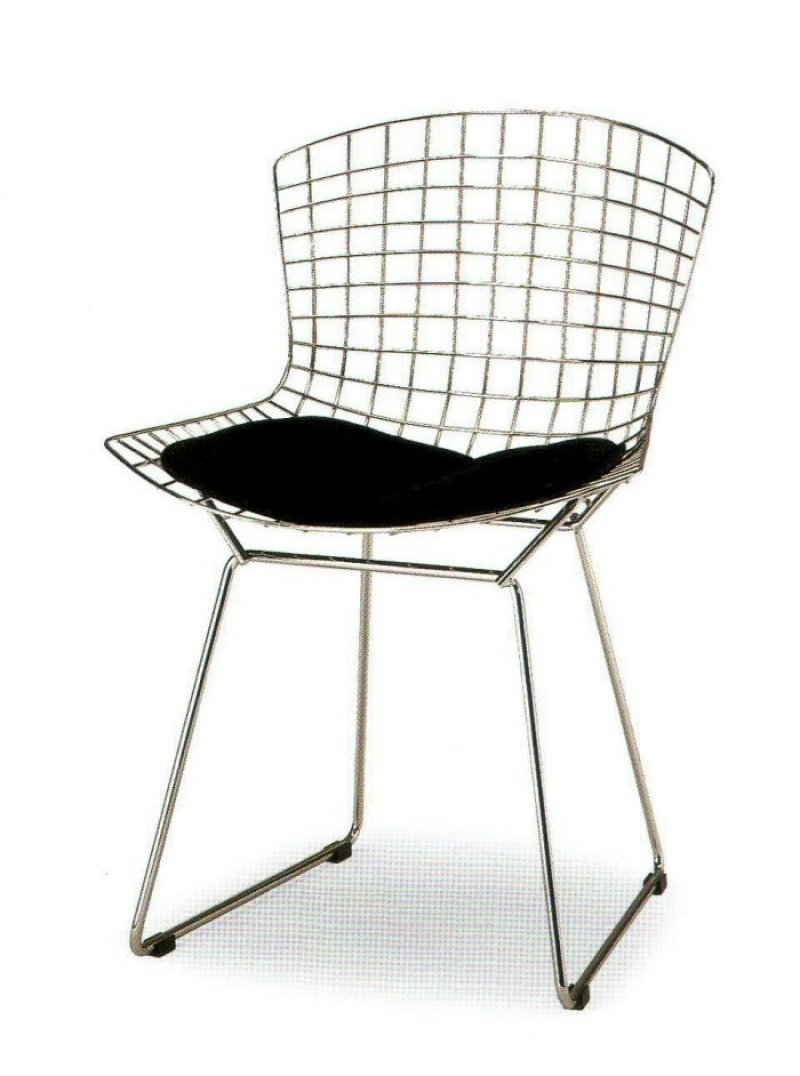 Sedia chair harry bertoia for Sedie italian design