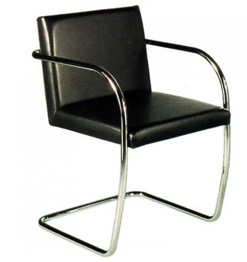 Sedia poltroncina armchair chair ludwig mies van der rohe - Mies van der rohe sedia ...