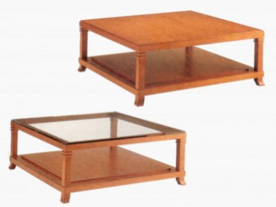 Tavolino coffe table frank lloyd wright - Mobili bauhaus repliche ...