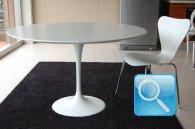 Tavolo Saarinen 100 o 107  + 4 sedie Jacobsen 054C