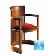 SEDIA POLTRONA BARREL WRIGHT