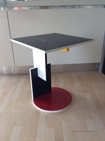 Tavolino Di Rietveld.Tavolino Red And Blue Coffe Table Gerrit Thomas Rietveld