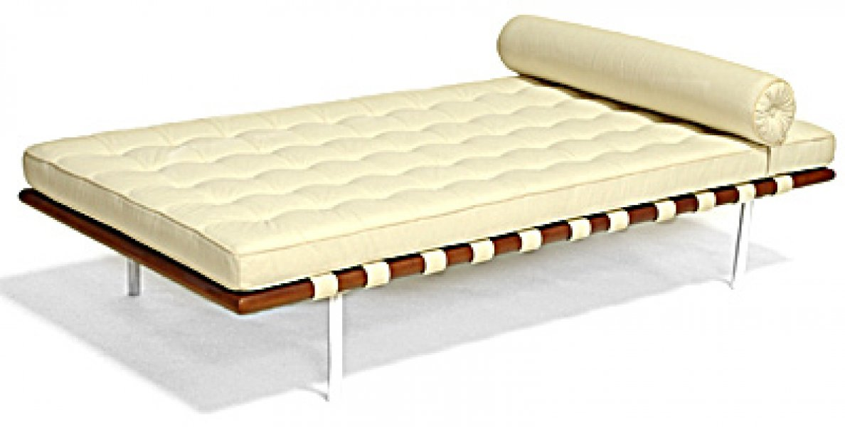 Letto daybed ludwig mies van der rohe - Letto barcellona ...