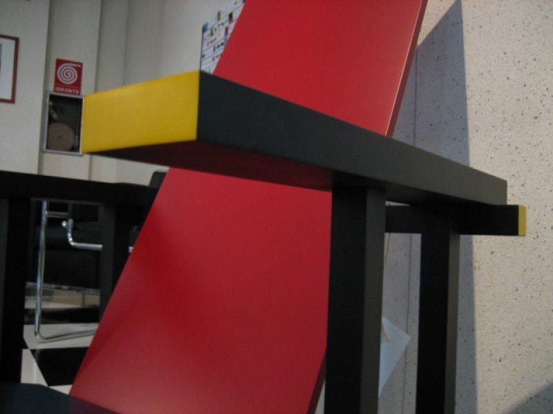 Sedia Poltrona Red And Blue Gerrit Thomas Rietveld